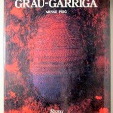 Libros de segunda mano: GRAU GARRIGA - PUIG, ARNAU - GRAU GARRIGA - NEW YORK 1985 - MUY ILUSTRADO. Lote 144004154