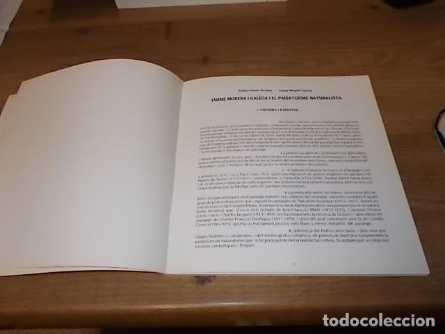 Libros de segunda mano: JAUME MORERA I GALÍCIA ( 1854 - 1927). FUNDACIÓ CAIXA PENSIONS. 1ª EDICIÓ 1985 . VEURE FOTOS. - Foto 5 - 144700382