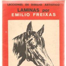 Livros em segunda mão: LECCIÓN DE DIBUJO ARTISTICO EMILIO FREIXAS. SERIE 8. ¡¡12 LÁMINAS, COMPLETA!!. E. MESEGUER.(ST/A01). Lote 144759738