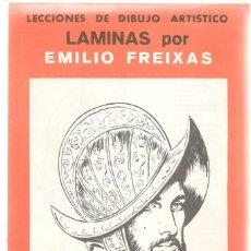 Livros em segunda mão: LECCIÓN DE DIBUJO ARTISTICO EMILIO FREIXAS. SERIE 9. ¡¡12 LÁMINAS, COMPLETA!!. E. MESEGUER.(ST/A01). Lote 144759886