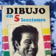 Libros de segunda mano: DIBUJO EN 5 LECCIONES LEDA . Lote 144825350