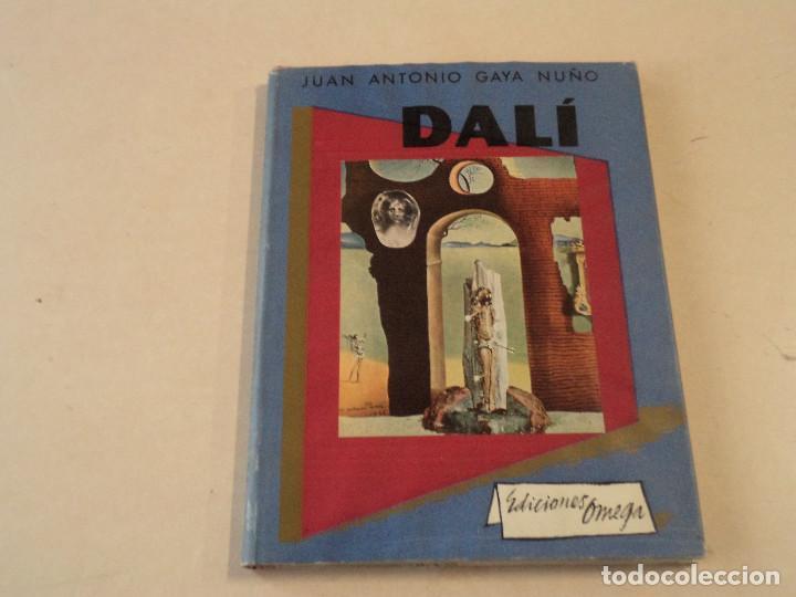 DALÍ - JUAN ANTONIO GAYA NUÑO - EDICIONES OMEGA (Libros de Segunda Mano - Bellas artes, ocio y coleccionismo - Pintura)