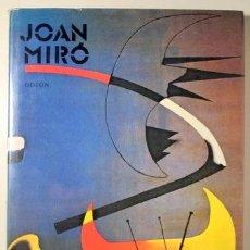 Libros de segunda mano: MIRÓ, JOAN - MALETOVÁ, ROSA MARIA - JOAN MIRÓ - PRAGA 1986 - ILUSTRADO - LIBRO EN CHECO. Lote 145031878