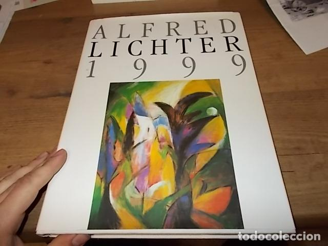 Libros de segunda mano: ALFRED LICHTER 1999 . WHAT A WONDERFUL WORLD. DEDICATORIA Y FIRMA ORIGINAL DEL ARTISTA. UNA JOYA!!! - Foto 2 - 145154806