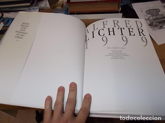 Libros de segunda mano: ALFRED LICHTER 1999 . WHAT A WONDERFUL WORLD. DEDICATORIA Y FIRMA ORIGINAL DEL ARTISTA. UNA JOYA!!! - Foto 3 - 145154806