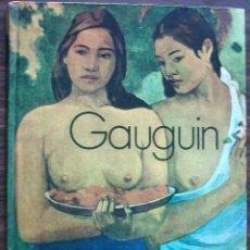 Libros de segunda mano: GAUGUIN. LOS GRANDES PINTORES.. Lote 145638610