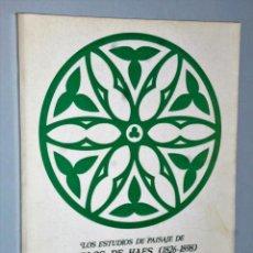 Libros de segunda mano: LOS ESTUDIOS DE PAISAJE DE CARLOS DE HAES (1826-1898) (OLEOS,DIBUJOS, GRABADOS). Lote 146323494
