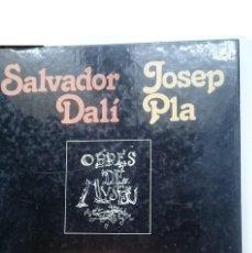 Libros de segunda mano: OBRES DE MUSEU - SALVADOR DALI - JOSEP PLA. Lote 146417170