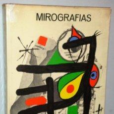 Libros de segunda mano: MIRÓGRAFÍAS: DIBUJOS, GRABADOS SOBRE COBRE, LITOGRAFÍAS, GRABADOS SOBRE MADERA, LIBROS, CARTELES DE. Lote 146613654