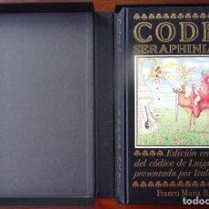 Libros de segunda mano: CODEX SERAPHINIANUS. EDICIÓN FACSÍMIL DEL CÓDICE DE LUIGI SERAFINI. Lote 147123442