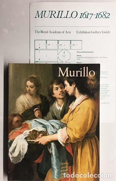 BARTOLOMÉ ESTEBAN MURILLO (1617-1682) ROYAL ACADEMY OF ARTS, LONDON (ANGULO IÑIGUEZ, JOHN ELLIOT, ET (Libros de Segunda Mano - Bellas artes, ocio y coleccionismo - Pintura)