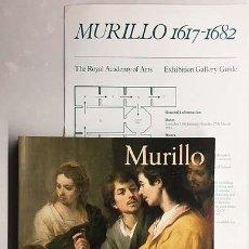 Libros de segunda mano: BARTOLOMÉ ESTEBAN MURILLO (1617-1682) ROYAL ACADEMY OF ARTS, LONDON (ANGULO IÑIGUEZ, JOHN ELLIOT, ET. Lote 147370134