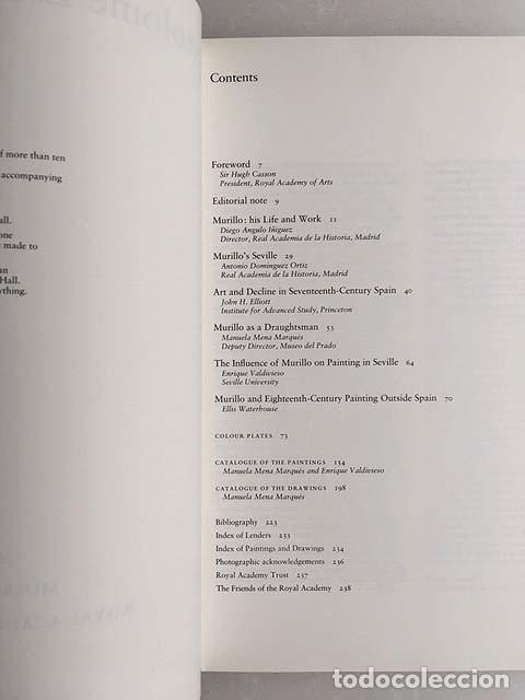 Libros de segunda mano: Bartolomé Esteban Murillo (1617-1682) Royal Academy of Arts, London (Angulo Iñiguez, John Elliot, Et - Foto 5 - 147370134