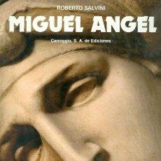 Libros de segunda mano: MIGUEL ÁNGEL. Lote 147617578