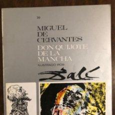 Libros de segunda mano: MIGUEL DE CERVANTES DON QUIJOTE DE LA MANCHA IUSTRADO POR DALÍ-MATEU-FASCICULO30(9€). Lote 148086202