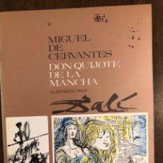Libros de segunda mano: MIGUEL DE CERVANTES DON QUIJOTE DE LA MANCHA IUSTRADO POR DALÍ-MATEU-FASCICULO31(9€). Lote 148086342