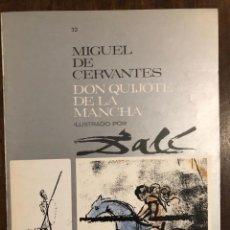 Libros de segunda mano: MIGUEL DE CERVANTES DON QUIJOTE DE LA MANCHA IUSTRADO POR DALÍ-MATEU-FASCICULO32(9€). Lote 148086450