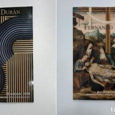 Libros de segunda mano - FERNANDO DURAN. VOLUMEN I Y II. PINTURA ANTIGUA Y ARTES DECORATIVAS. OCTUBRE 2018. tdkr36 - 148159938
