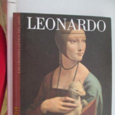 Livros em segunda mão: LEONARDO LOS GRANDES GENIOS DEL ARTE BIBLIOTECA EL MUNDO Nº 17 ESTRELLA DE DIEGO -2005. Lote 148489638