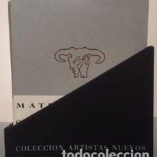 Libros de segunda mano: CUADERNOS DE COLECCIÓN ARTISTAS NUEVOS. LIBRERIA CLAN. EDICIÓN FACSÍMIL. Lote 148975122