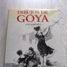 Libros de segunda mano: LIBRO DIBUJOS DE GOYA LOS ÁLBUMES 1973 PIERRE GASSIER. Lote 149449473