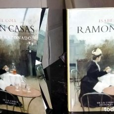 Libros de segunda mano: ISABEL COLL MIRABENT RAMON CASAS CATÁLOGO RAZONADO TODA SU OBRA. DESCATALOGADO. Lote 149461704
