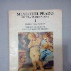 Libros de segunda mano: MUSEO DEL PRADO STUDIA RUBENNIANA 1 MATIAS DIAZ PADRON. Lote 149538406
