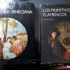 Libros de segunda mano: LA EDAD DE ORO DE LA PINTURA VENECIANA Y LOS PRIMITIVOS FLAMENCOS - LA HABANA (CUBA) 1981- DIFÍCILES. Lote 149620522