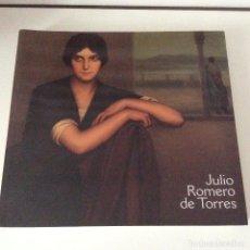 Libros de segunda mano: JULIO ROMERO DE TORRES MUSEO DE BELLAS ARTES DE BILBAO BBK 2002. Lote 149715138