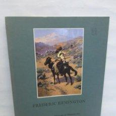 Livros em segunda mão: FREDERIC REMINGTON. RON TYLER. AMON CARTER MUSEUM OF WESTERN ART. 1981. VER FOTOGRAFIAS ADJUNTAS. Lote 149933726