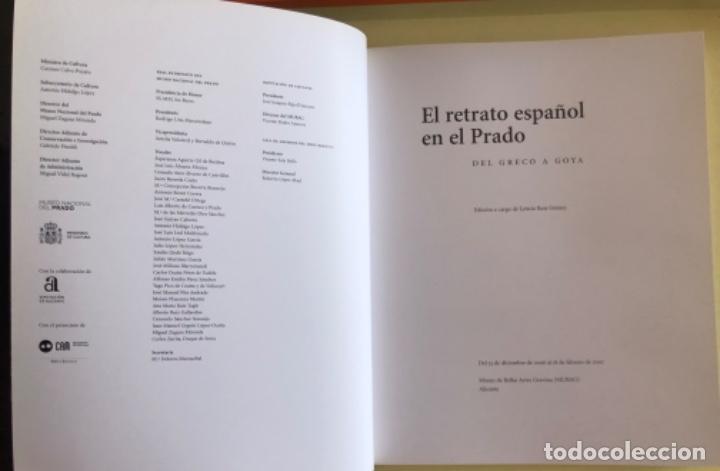 Libros de segunda mano: PINTURA- EL RETRATO ESPAÑOL EN EL PRADO- DEL GRECO A GOYA- 2.007 - Foto 2 - 149976614