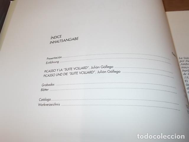 Libros de segunda mano: PICASSO. SUITE VOLLARD. FUNDACIÓN JUAN MARCH. ED. DE ARTE Y CIENCIA . 1ª EDICIÓN 1996. VER FOTOS. - Foto 4 - 150034910