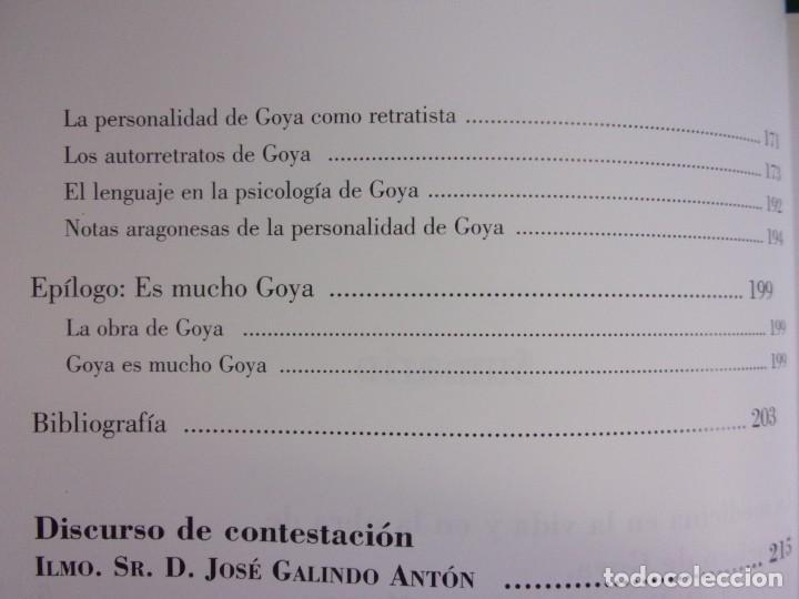 Libros de segunda mano: LA MEDICINA EN LA VIDA Y EN LA OBRA DE FRANCISCO DE GOYA / 2010 - Foto 4 - 150273194