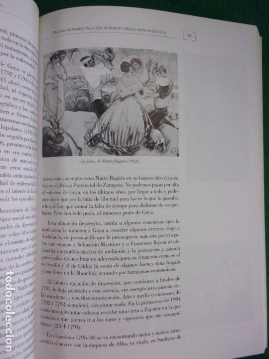 Libros de segunda mano: LA MEDICINA EN LA VIDA Y EN LA OBRA DE FRANCISCO DE GOYA / 2010 - Foto 5 - 150273194