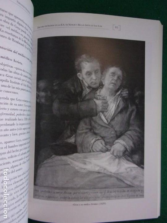 Libros de segunda mano: LA MEDICINA EN LA VIDA Y EN LA OBRA DE FRANCISCO DE GOYA / 2010 - Foto 6 - 150273194