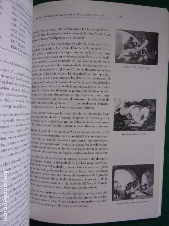 Libros de segunda mano: LA MEDICINA EN LA VIDA Y EN LA OBRA DE FRANCISCO DE GOYA / 2010 - Foto 7 - 150273194