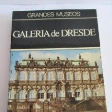 Libros de segunda mano: GRANDES MUSEOS - TESOROS DE LA PINTURA EN LA GALERIA DE DRESDE - DAIMON 1967. Lote 150806430