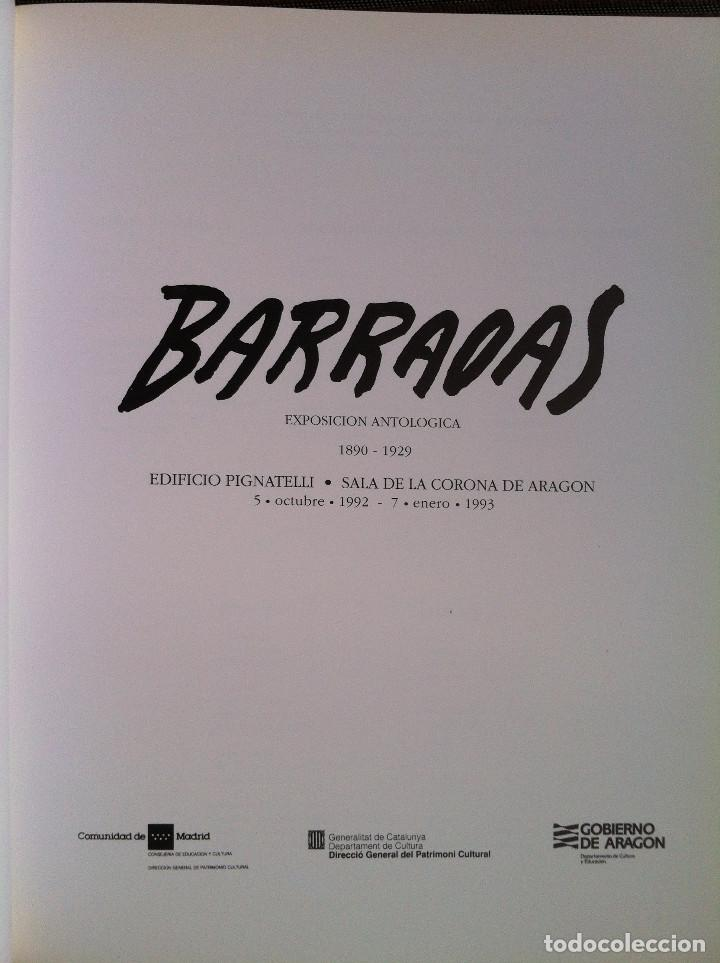 Libros de segunda mano: Barradas. Exposición Antológica 1890-1929 Catálogo exposición. Ibercaja Obra Social 2011 - Foto 2 - 150826670