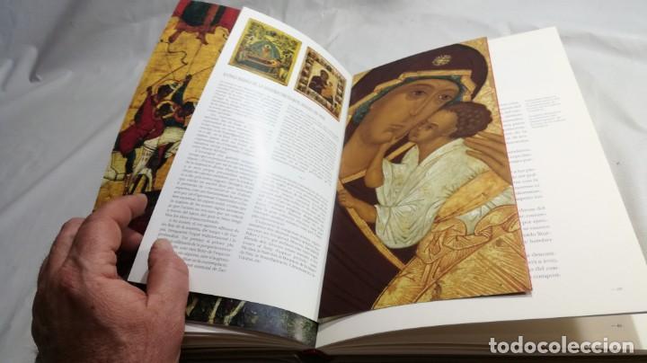 Libros de segunda mano: ICONOS RUSOS DE LA GALERÍA TRETIAKOV SIGLOS XIV A XVII -FUNDACIÓN CAIXA CATALUNYA - - Foto 14 - 151039570