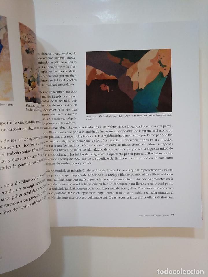 Libros de segunda mano: LA PINTURA DE ENRIQUE BLANCO LAC. 1914-1994. IGNACIO GIL-DIEZ USANDIZAGA. TDKLT2 - Foto 2 - 151080462