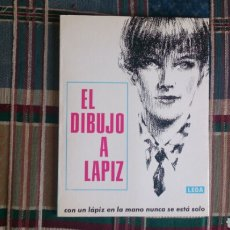 Libros de segunda mano: LIBRO EL DIBUJO A LAPIZ ED LEDA 1985. Lote 151244085