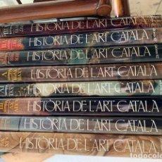 Libros de segunda mano: HISTÒRIA DE L'ART CATAL. EDICIONS 62 (8 VOLS). Lote 151413878