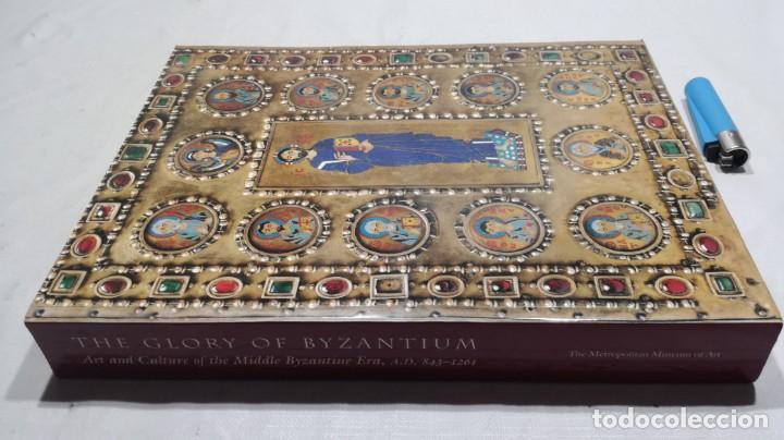 THE GLORY BYZANTIUM/ HELEN C EVANS AND WILLIAM D WIXOM/ METROPOLITAN MUSEUM/ NEW YORK (Libros de Segunda Mano - Bellas artes, ocio y coleccionismo - Pintura)