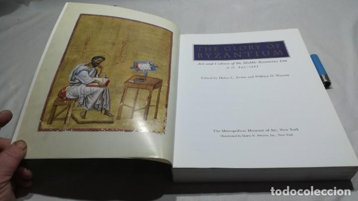 Libros de segunda mano: THE GLORY BYZANTIUM/ HELEN C EVANS AND WILLIAM D WIXOM/ METROPOLITAN MUSEUM/ NEW YORK - Foto 3 - 151564970