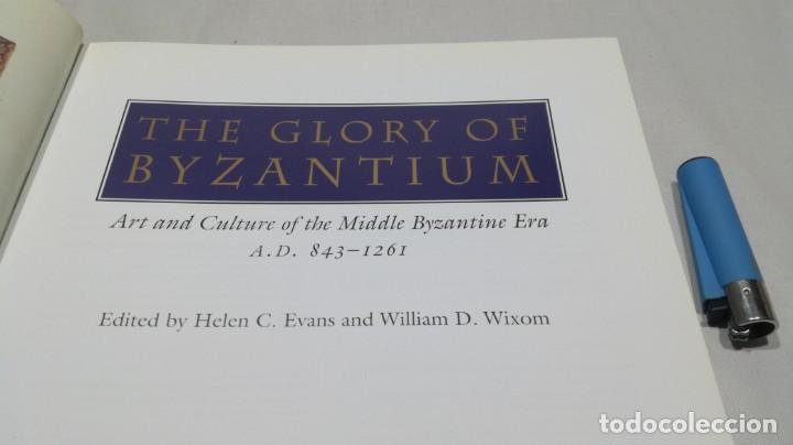 Libros de segunda mano: THE GLORY BYZANTIUM/ HELEN C EVANS AND WILLIAM D WIXOM/ METROPOLITAN MUSEUM/ NEW YORK - Foto 4 - 151564970