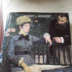 Libros de segunda mano: EL IMPRESIONISMO - ARTE, OCIO Y SOCIEDAD-, DE ROBERT HERBERT. ALIANZA FORMA, 1989.. Lote 151787874