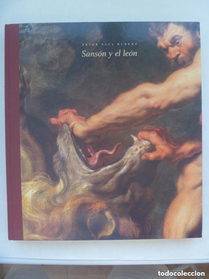 ENORME LIBRO : SANSON Y EL LEON . PETER PAUL RUBENS . MATIAS DIAZ PADRON. (Libros de Segunda Mano - Bellas artes, ocio y coleccionismo - Pintura)