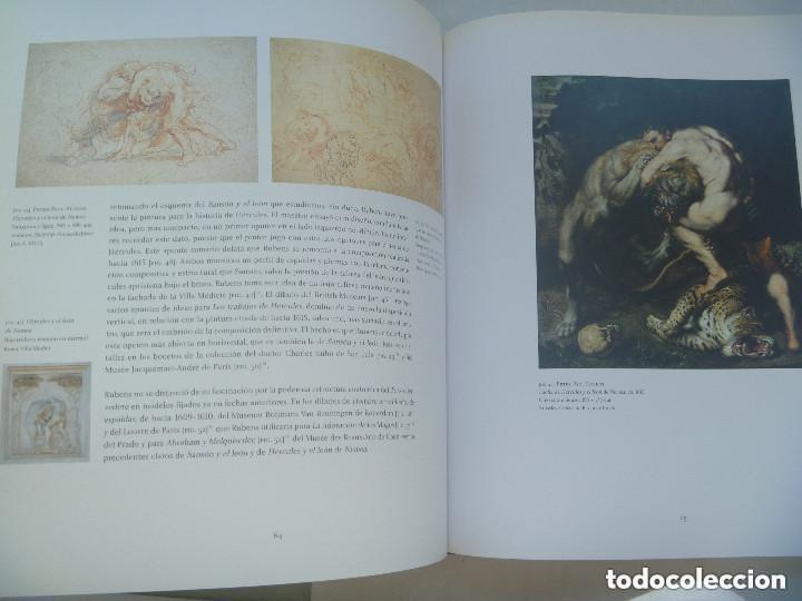 Libros de segunda mano: ENORME LIBRO : SANSON Y EL LEON . PETER PAUL RUBENS . MATIAS DIAZ PADRON. - Foto 5 - 152447258