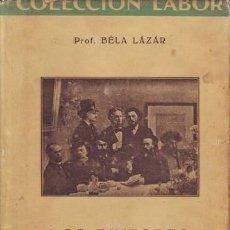 Libros de segunda mano: LAZAR, BÉLA: LOS PINTORES IMPRESIONISTAS. TERCERA EDICIÓN. BARCELONA, LABOR 1942.. Lote 152565438