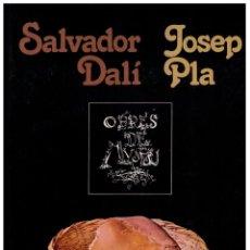 Libros de segunda mano: SALVADOR DALÍ JOSEP PLA - OBRES DE MUSEU. Lote 153194770